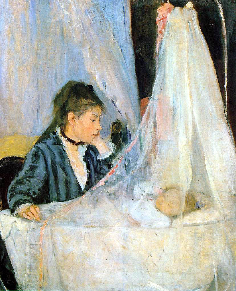 Berthe_Morisot - Le Berceau - 1872