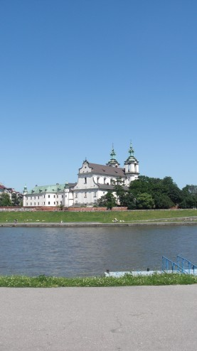 Vistula River and Church