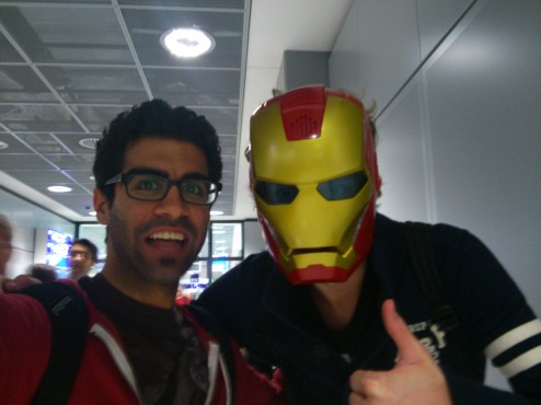Ironman and Adib