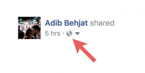 facebook public post